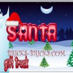 Santa Gift Delivery Truck